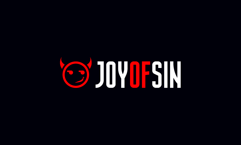 Joyofsin - Playful business name for sale