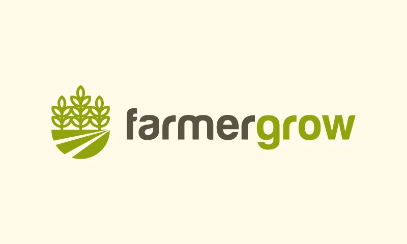 Farmergrow - Farming startup name for sale