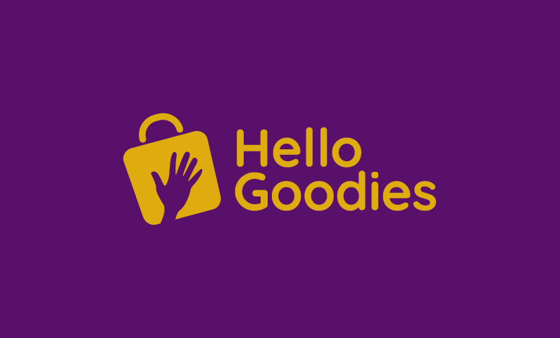 Hellogoodies - Food and drink business name for sale