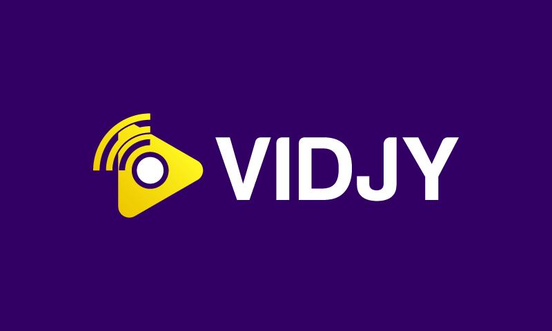 Vidjy - Film domain name for sale