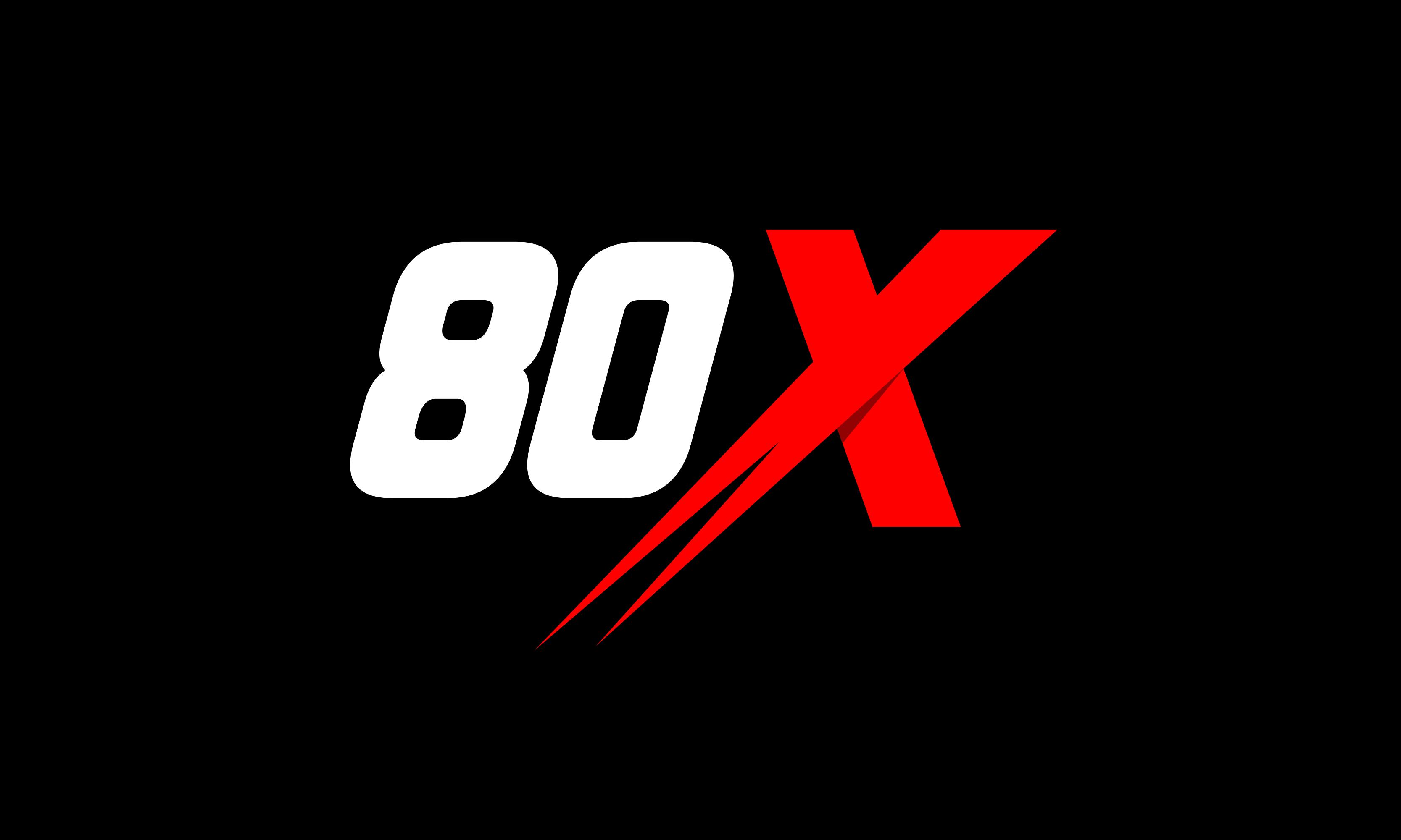 80x logo
