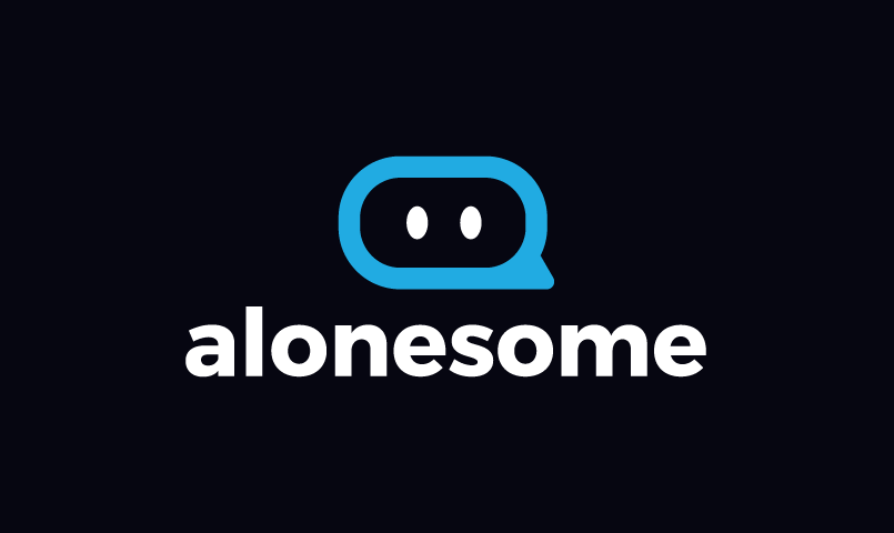 Alonesome - AI startup name for sale
