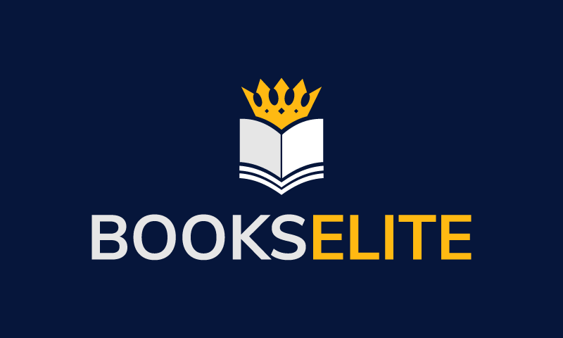 Bookselite - Writing startup name for sale