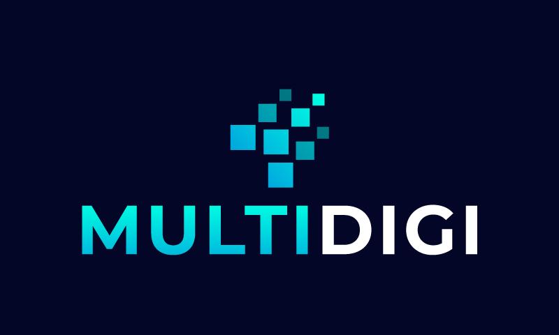 Multidigi - Technology business name for sale