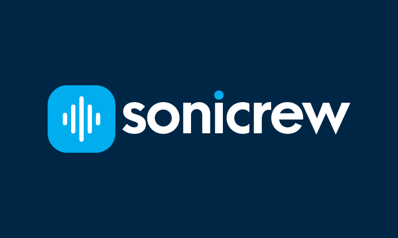 Sonicrew - Business startup name for sale
