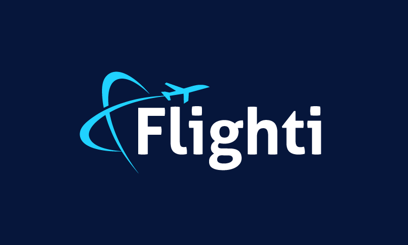 Flighti - Aviation startup name for sale