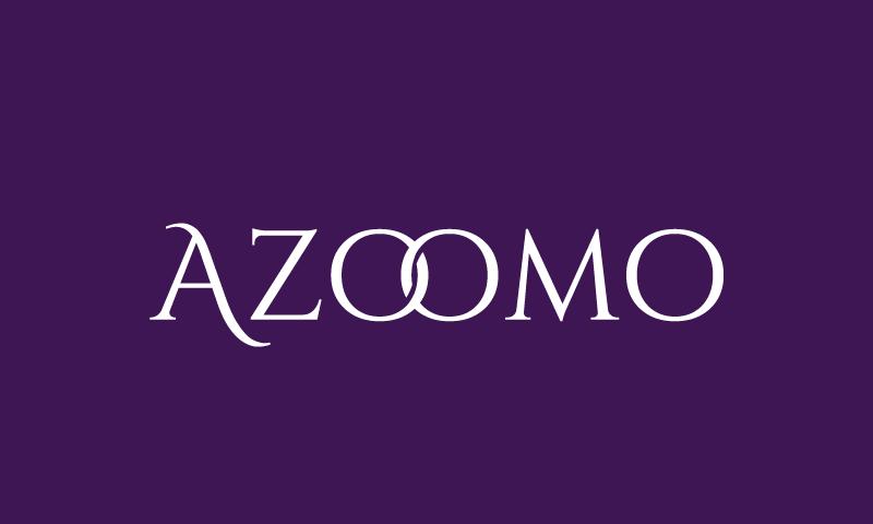 Azoomo - Retail startup name for sale