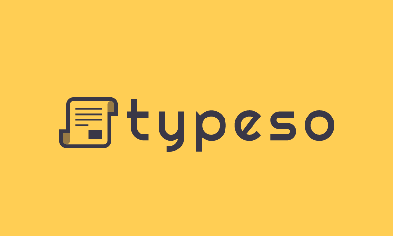Typeso - Chat product name for sale