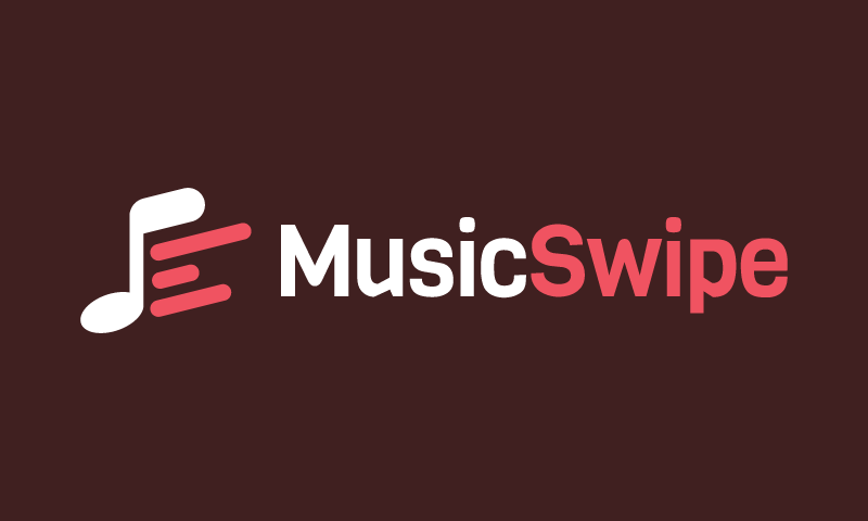 Musicswipe - Music brand name for sale