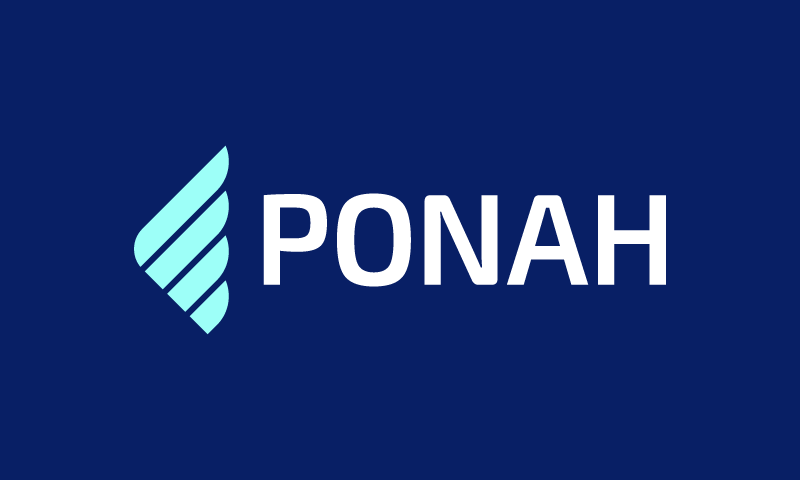 Ponah - Design company name for sale