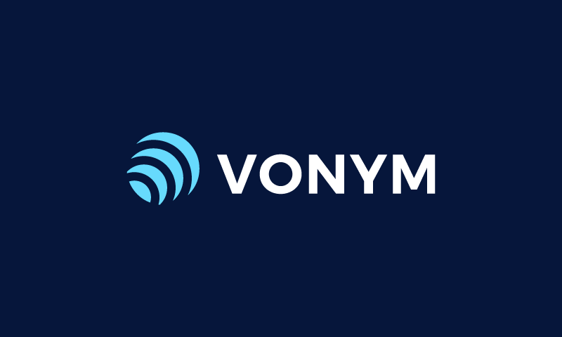 Vonym - Business startup name for sale