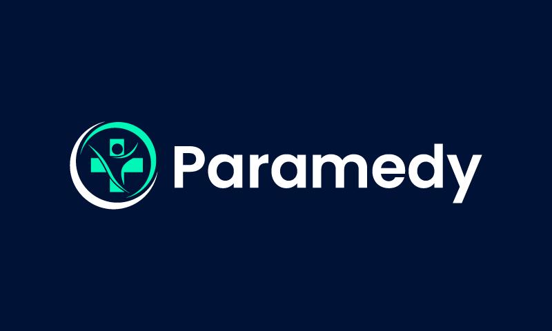 Paramedy - Health company name for sale