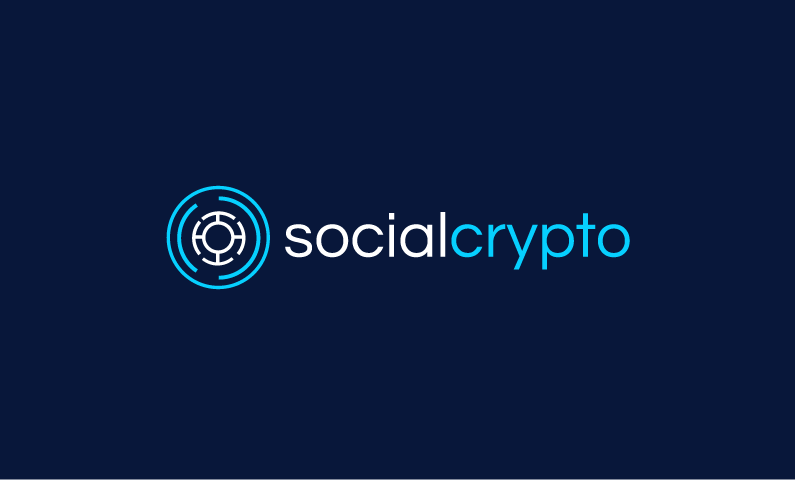 Socialcrypto - Social business name for sale