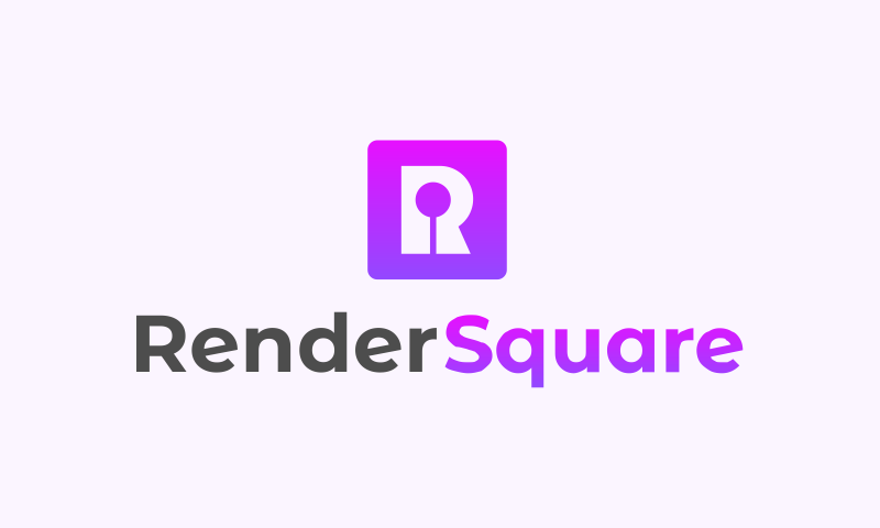 Rendersquare - Design business name for sale