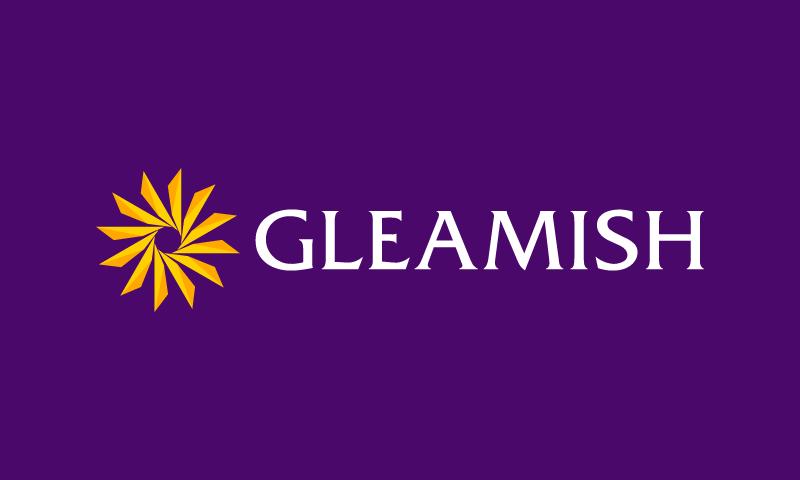 gleamish
