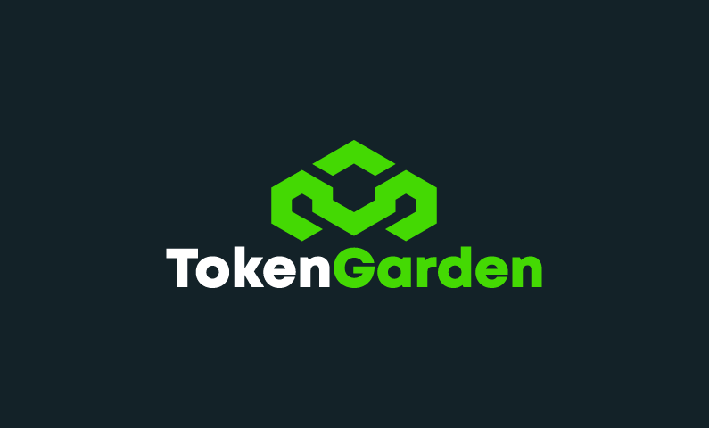Tokengarden - Cryptocurrency startup name for sale
