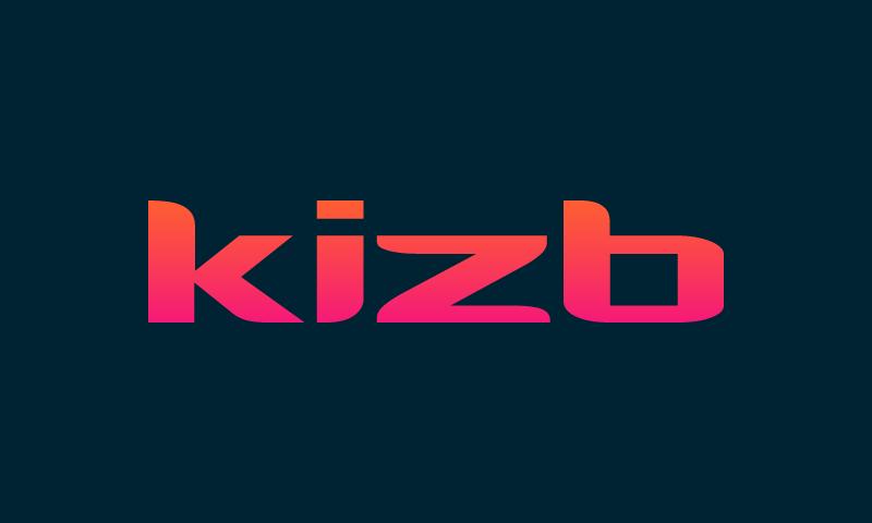 Kizb - E-commerce company name for sale