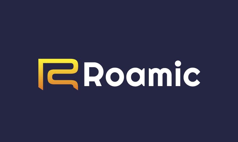 Roamic - Media startup name for sale