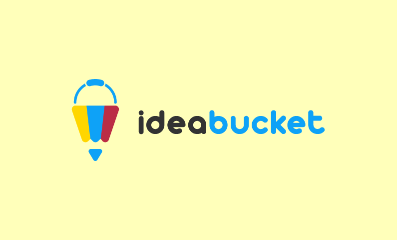 IdeaBucket logo - Creative business name