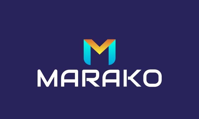Marako - Finance brand name for sale