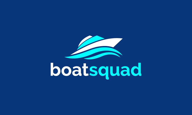 Boatsquad - Naval brand name for sale