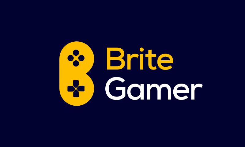 Britegamer - Healthcare brand name for sale