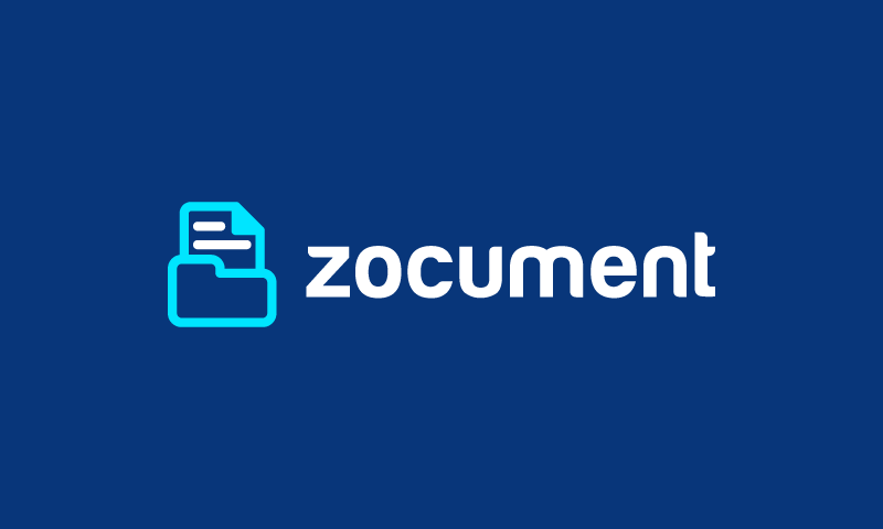 Zocument - Marketing brand name for sale