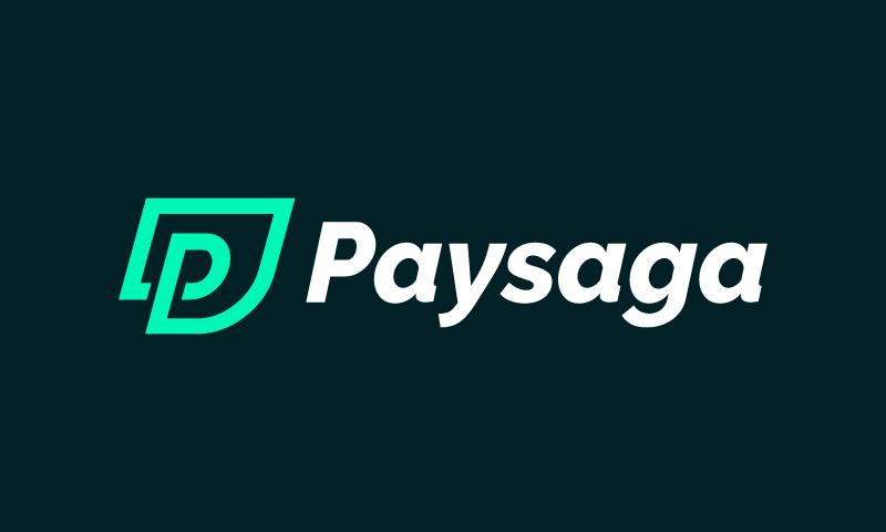 Paysaga - Banking startup name for sale