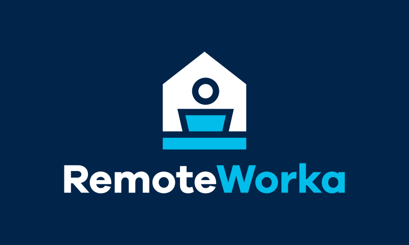 Remoteworka - Remote working brand name for sale