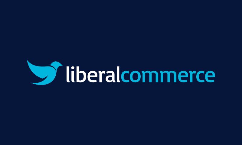 Liberalcommerce - E-commerce brand name for sale