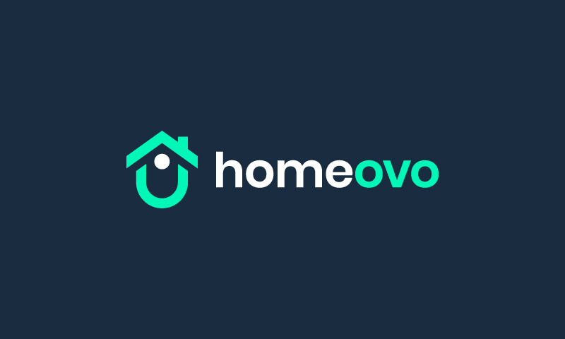 Homeovo - Modern startup name for sale