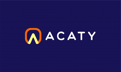 Acaty - Contemporary business name for sale