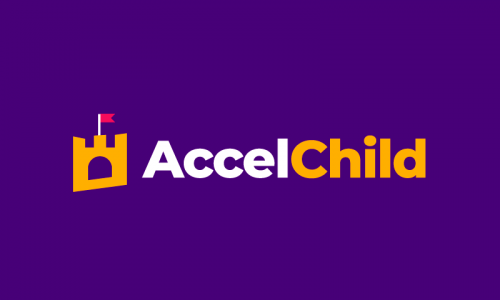 Accelchild - Childcare product name for sale