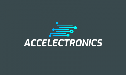 Accelectronics - Electronics startup name for sale