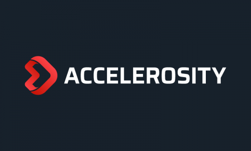 Accelerosity - Playful product name for sale