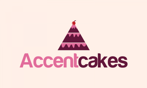 Accentcakes - Retail business name for sale