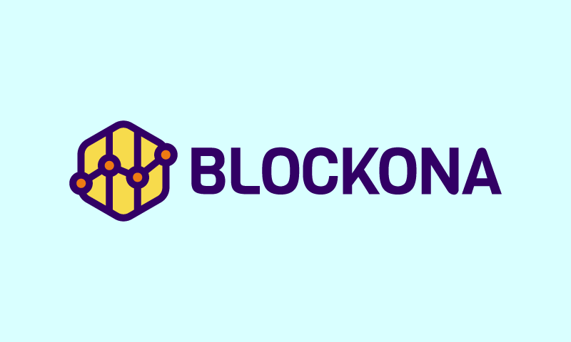 Blockona - Cryptocurrency startup name for sale
