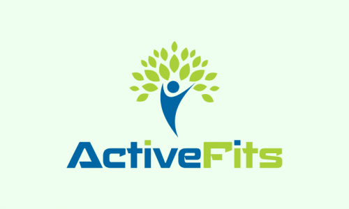Activefits - E-commerce brand name for sale