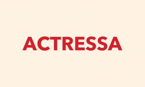 Actressa - Feminine business name for sale