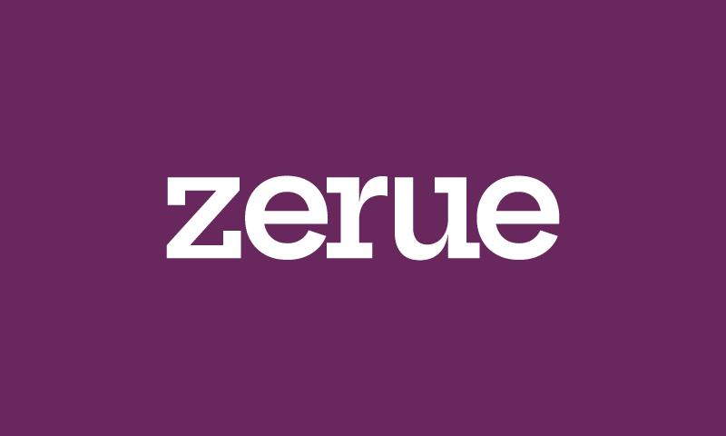 Zerue - E-commerce business name for sale