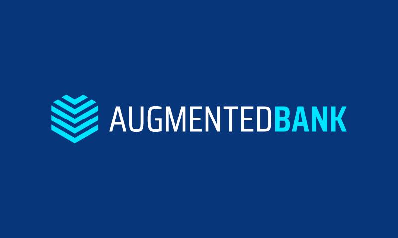 Augmentedbank - Technology business name for sale