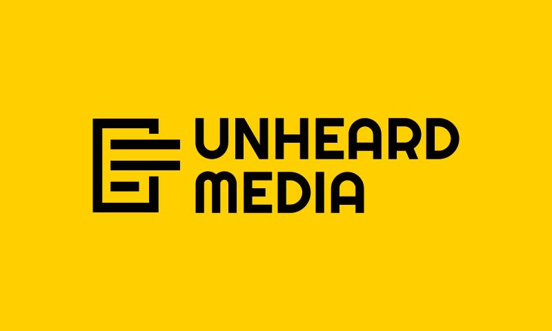 Unheardmedia - Media business name for sale