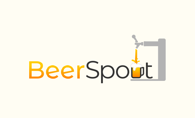 Beerspout - Alcohol startup name for sale