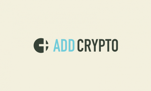 Addcrypto - Cryptocurrency company name for sale