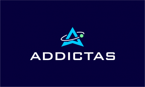 Addictas - Space startup name for sale