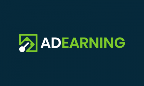 Adearning - Advertising startup name for sale