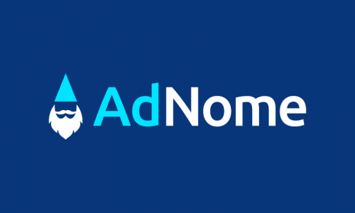 Adnome - Advertising startup name for sale