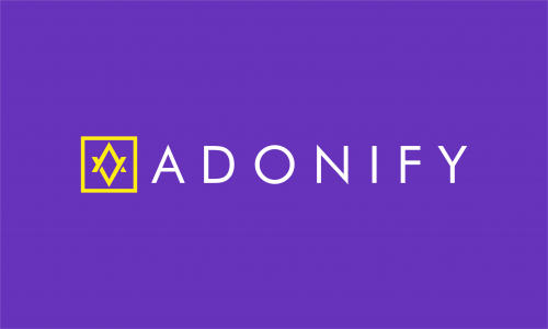 Adonify - Fashion company name for sale