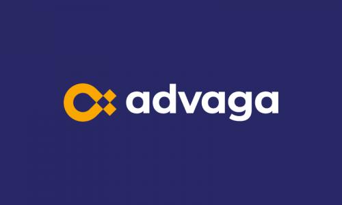 Advaga - Marketing startup name for sale