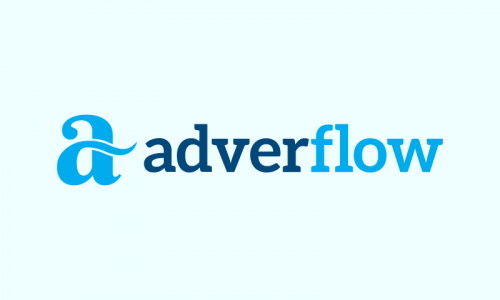 Adverflow - Marketing startup name for sale